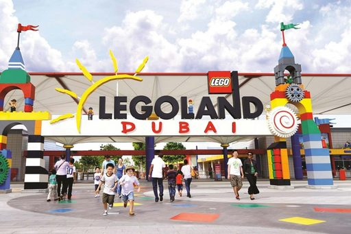 Du lịch Dubai mùa thu -Đến với công viên giải trí Legoland